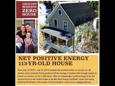 Learn more about America's oldest zero energy capable home renovation