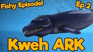The Ocean is a Scary Place | Kweh ARK SMP | Ep. 2