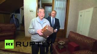 Russia: Archive footage shows Putin congratulating Primakov on his last birthday