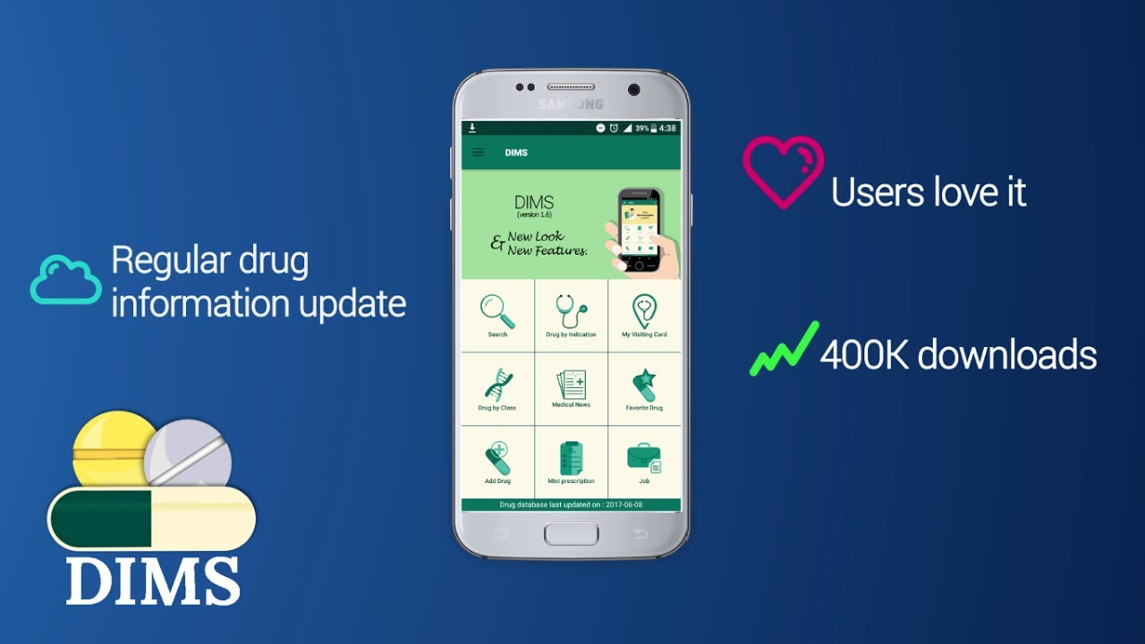 DIMS 1 8 5 6 APK Download - Android Medical Apps