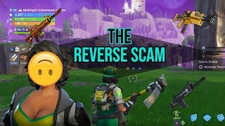 ➡The Reverse Scam ⬅ Fortnite (STW Challenge)
