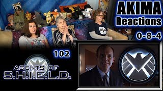 AGENTS of SHIELD 102 | 0-8-4 | AKIMA Reactions