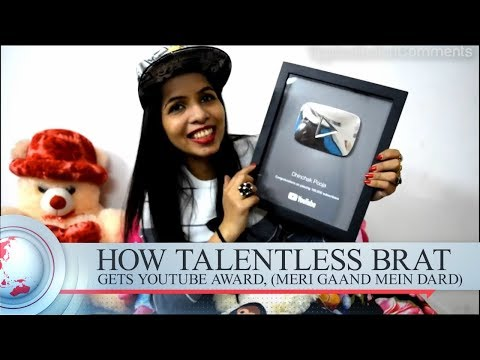 Dhinchak Pooja receives award from YouTube WTF? - Reaction by TIC