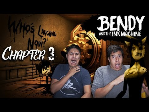 BENDY AND THE INK MACHINE CHAPTER 3!