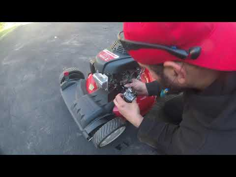 Troy Bilt TB240 Stopped Running While Cutting The Grass HOW TO FIX!  Honda GCV160 Engine