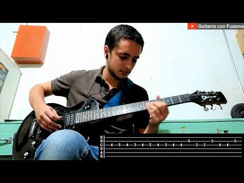 Caminito Serrano   Afrosound   Los destellos   Guitarra   Tutorial   Como tocar   Cover