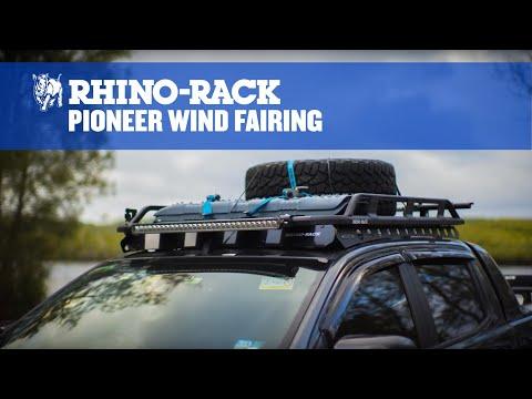 Rhino-Rack USA 43249 Pioneer Wind Fairing 44 in Pioneer Wind Fairing