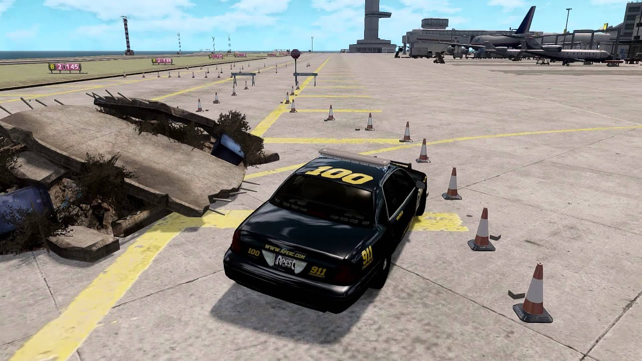 [GTA IV] Police Defensive Driving Training Course [HD ...