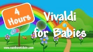 Смотреть клип ♥ Vivaldi for kids ♥ Bedtime Classical Music ♥ Four Seasons ♥ 4 hours онлайн