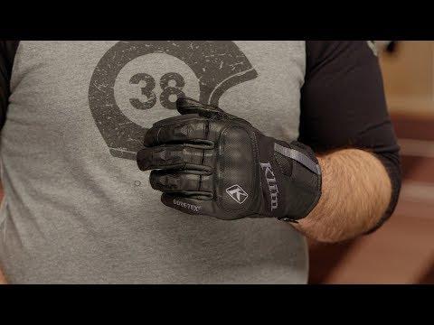 Klim Adventure GTX Short Gloves Review