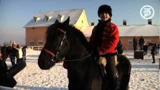 Alex Dar & Виктория Боня. И опасные жеребцы. / Horseback riding and dangerous stallions.