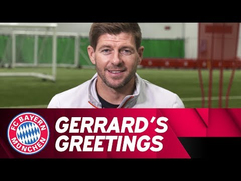 Gerrard's Greetings to Xabi Alonso #GraciasXabi