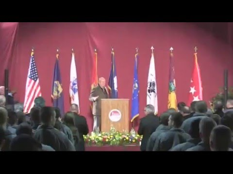 "Todd Lecture Series: General Gordon Sullivan, ""National Security Implications of Climate Change"""