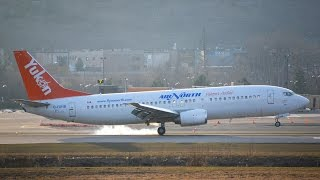 Air North Boeing 737-400 Approach and Landing