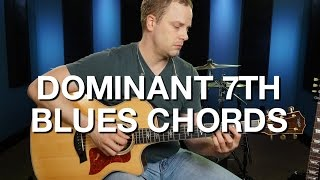 dominant 7th blues chords blues guitar lesson 3