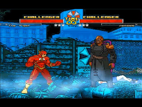 Mugen : Flash New 52 (Dc Comics) Vs Nemesis (Resident Evil) (Request)