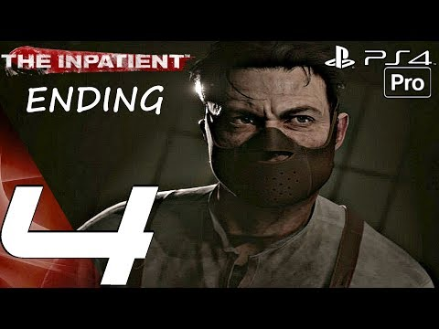 THE INPATIENT - Gameplay Walkthrough Part 4 - Ending & Post Credits (PS4 PRO) PSVR