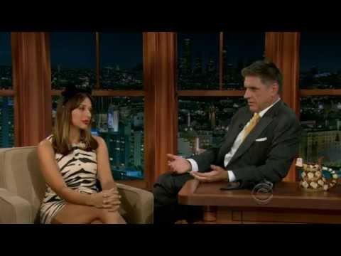 2012.10.31 - Rashida Jones & David Morrissey - The Late Late Show with Craig Ferguson