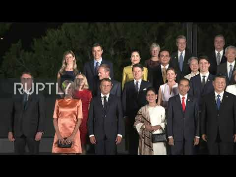 Japan: Joker Trump has G20 leaders in stitches during group photo