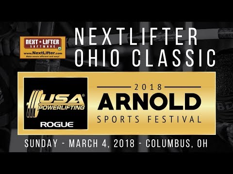 NextLifter Ohio Classic at 2018 Arnold Sports Festival