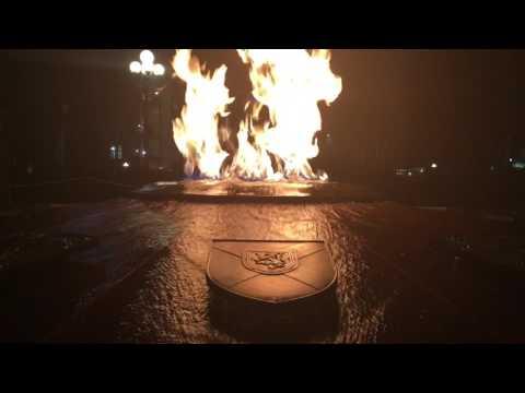 Centenial Flame, Parliament Hill, Ottawa, Ontario, Canada