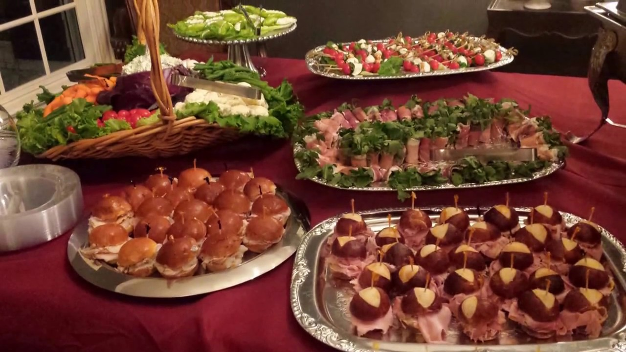 How to set up an appetizer table - YouTube