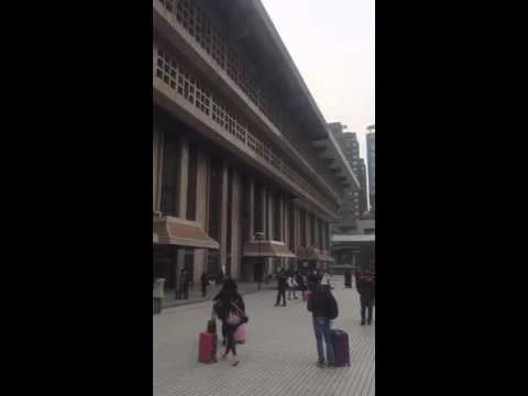 Far East Adventure Travel Taiwan Premier Taipei Train Station post earthquake