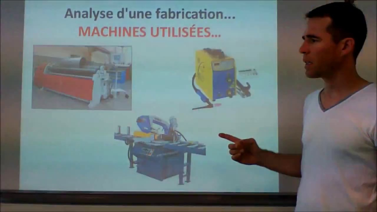 Oral De Stage Bac Pro Chaudronnerie 2017 Youtube