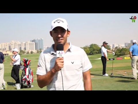 Claire On Course: Pablo Larrazabal Interview DP World Tour Championship 2014