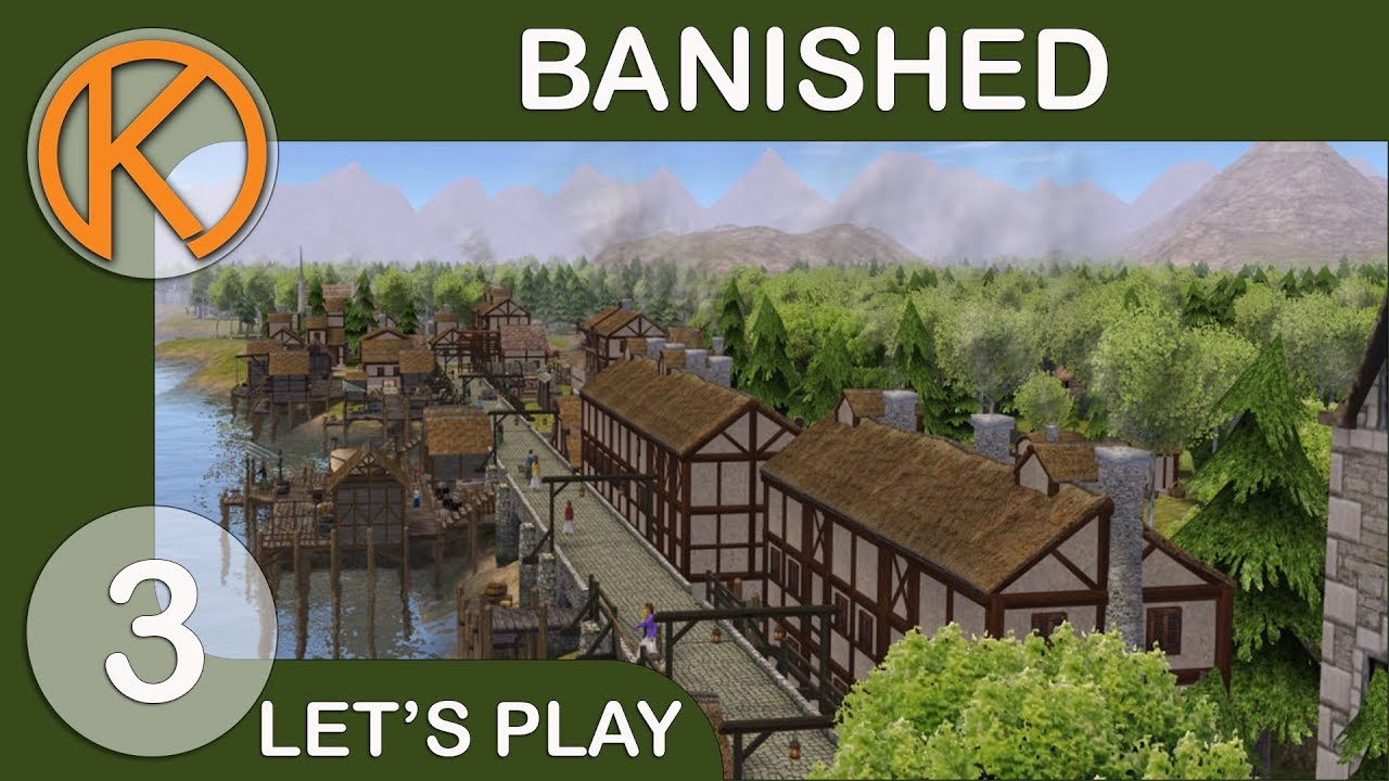 Banished DS Mod Pack | BEST BRIDGE EVER - Ep  3 | Let's Play