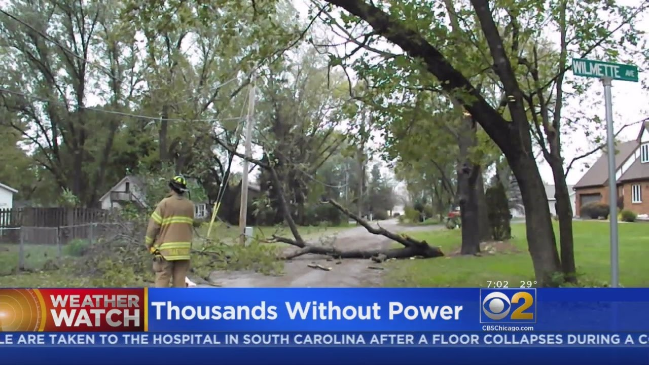 80K Still Without Power After Storms Pummel Chicago Area, ComEd ...