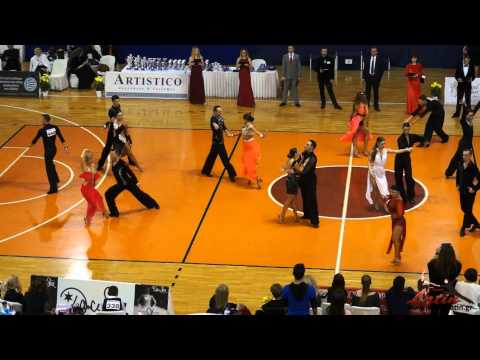 Athens DanceSport Open 2015: Adults: Rising Stars Latin: SemiFinal