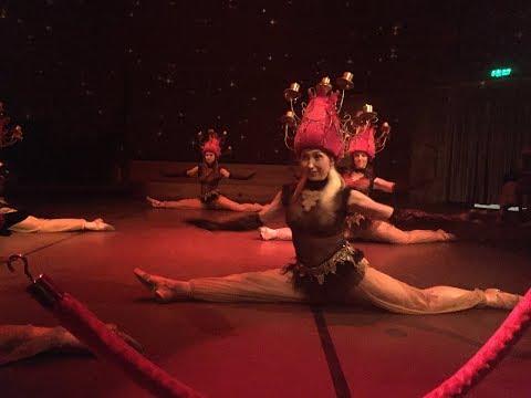 Turkish bellydance and Folkloric Dance at Hodjapasha Cultural Centre. Türk oryantal dansı. Istanbul