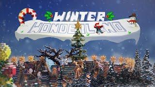 Minecraft Survival Spawn - Winter Wonderland