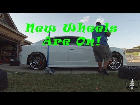 Finally got my new wheels on! Vlog 2