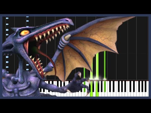 Ridley's Theme - Super Metroid [Piano Tutorial] (Synthesia) // DS Music
