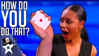 Magician's MOST VIEWED Card Tricks on America's Got Talent | Magician's Got Talent