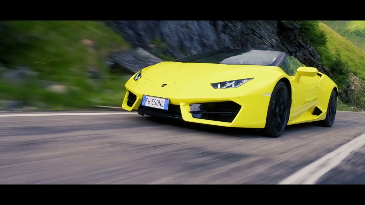 Lamborghini Sports Cars In Transylvania Challenge   Unravel Travel TV