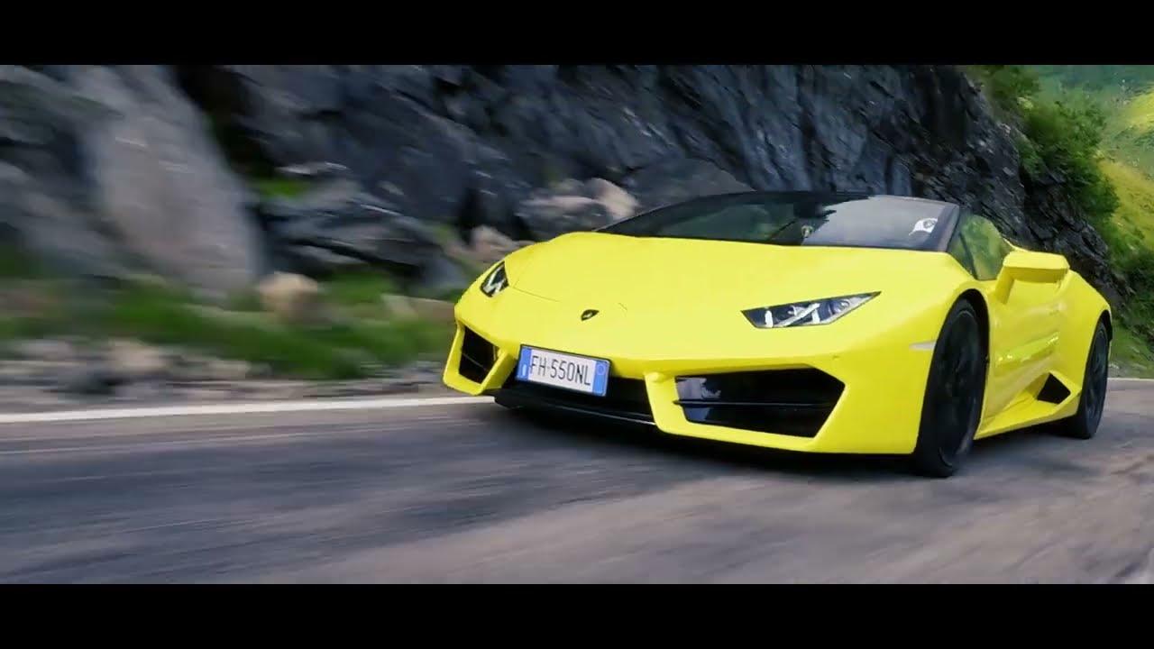 Lamborghini Sports Cars In Transylvania Challenge   Unravel Travel TV