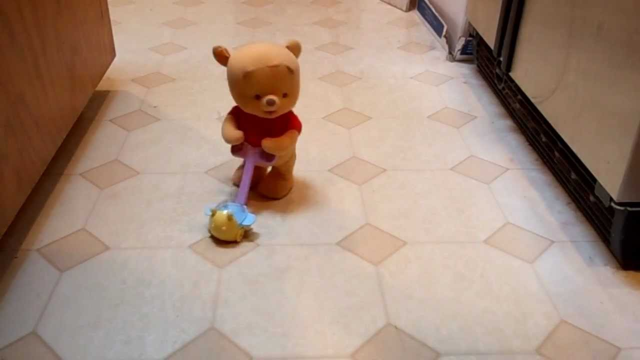 Baby Doll With Toys Pop Along Baby Pooh Walking Disney Winnie The Pooh Bear