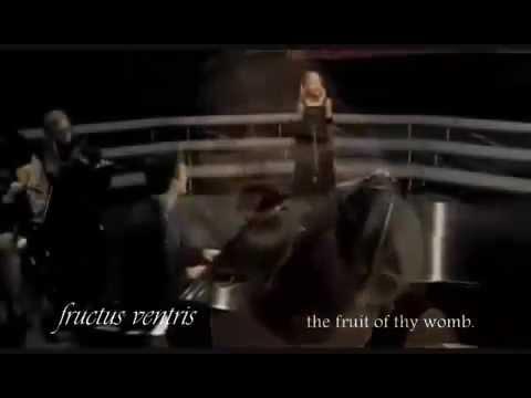 Jackie Evancho - Ave Maria (Bach-Gounod) with lyrics