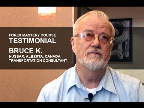 Forex Mastery Course Testimonial | Bruce K.