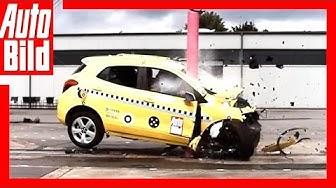 Crashtest Baum-Unfall - Schockierendes Ergebnis