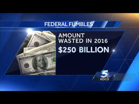 Sen. James Lankford discusses 'Federal Fumbles' report