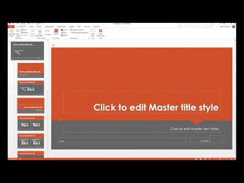 How to Customize PowerPoint Templates