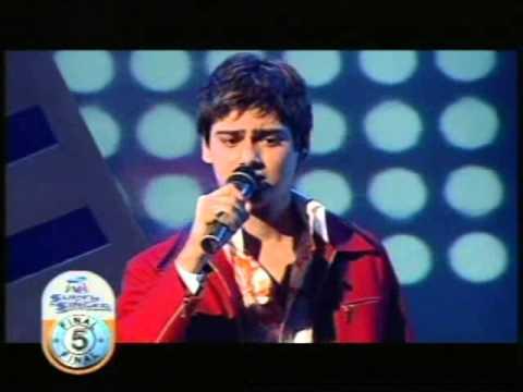 Kesariya by Asit Tripathy performed at SAMSUNG [V] SUPERSINGER