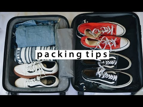 TRAVEL PACKING TIPS: pack with me!