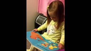 2014-07-30 Presley reads Little Lion Shares Thumbnail