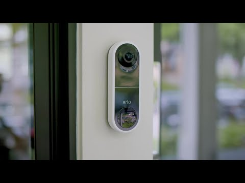 Arlo Video Doorbell - Know Before They Knock