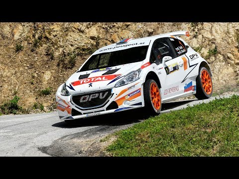 Road to victory at Rally Velenje 2017 with Peugeot 208 T16